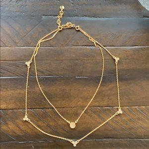 Chloe + Isabel Pavé Circle Convertible Necklace